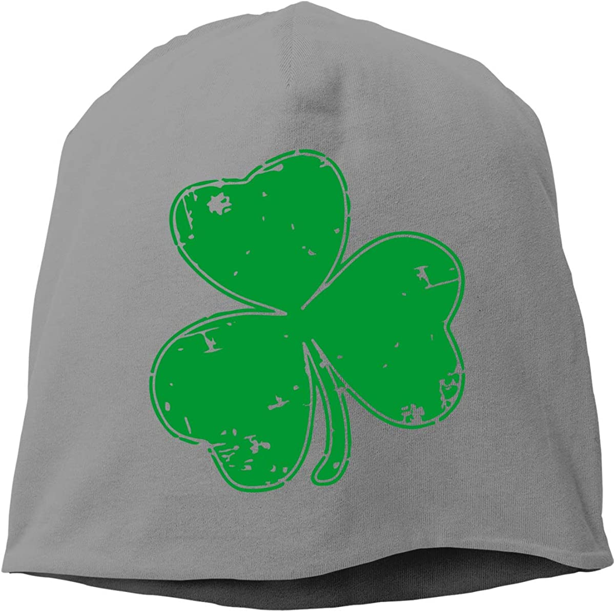 TLPM9LKMBM Irish Shamrock Beanie Skull Cap for Women and Men Winter Warm Knit Hat