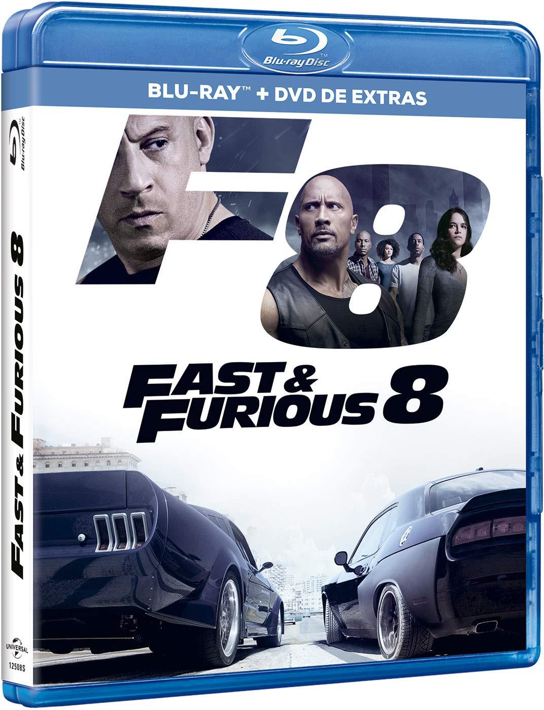 A todo gas 8 (BD + DVD Extras) [Blu-ray]: Amazon.es: Vin Diesel ...