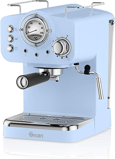 Swan SK22110BLN, Retro Pump Espresso Coffee Machine
