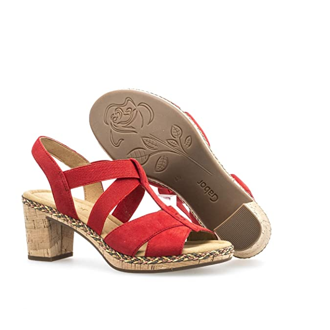 En Femme Gabor Décroché ComfortConfortable Shoes Pour Sandales Rj3qcA4L5