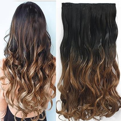 """Neverland Beauty 24"""" (60 cm) extensiones de cabello cabeza clip en extensiones de"""