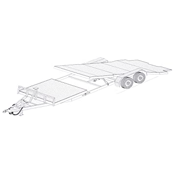 Amazon 24 gravity tilt car hauler trailer plans blueprints 24 gravity tilt car hauler trailer plans blueprints model 24gt malvernweather Gallery