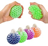 Stress Relief Mesh Squeeze Balls - Pack of 12