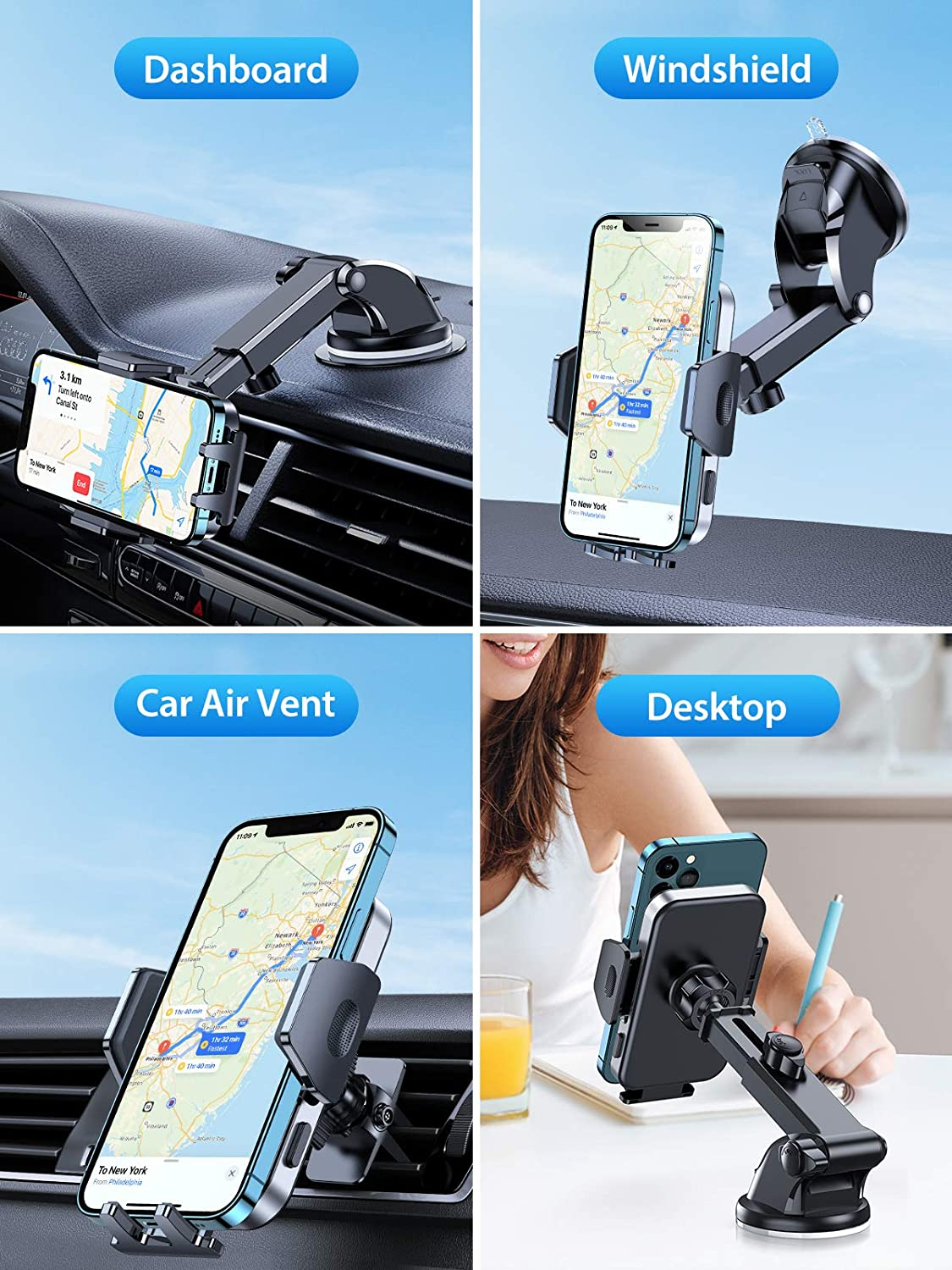 What is cell phone holders and types