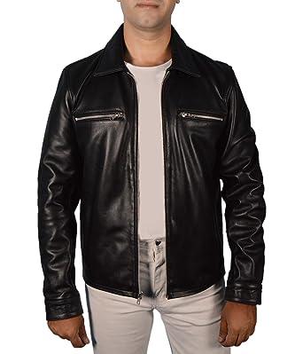 Leather jacket cruising