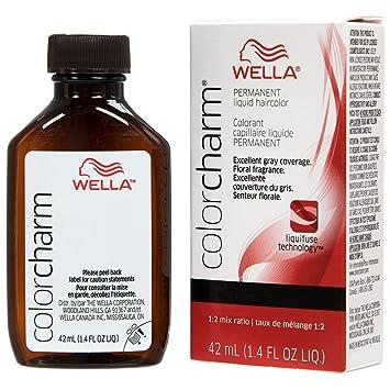 Wella Charm Liquid Permanent Hair Color, 607/6rv Cyclamen