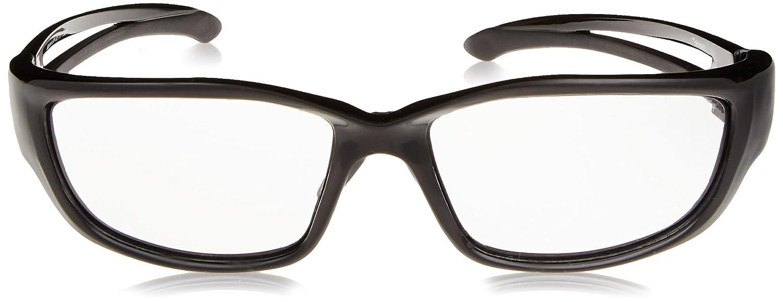 Black with Smoke Lens Edge Safety Eyewear Edge Eyewear SK-XL116 Kazbek XL Safety Glasses