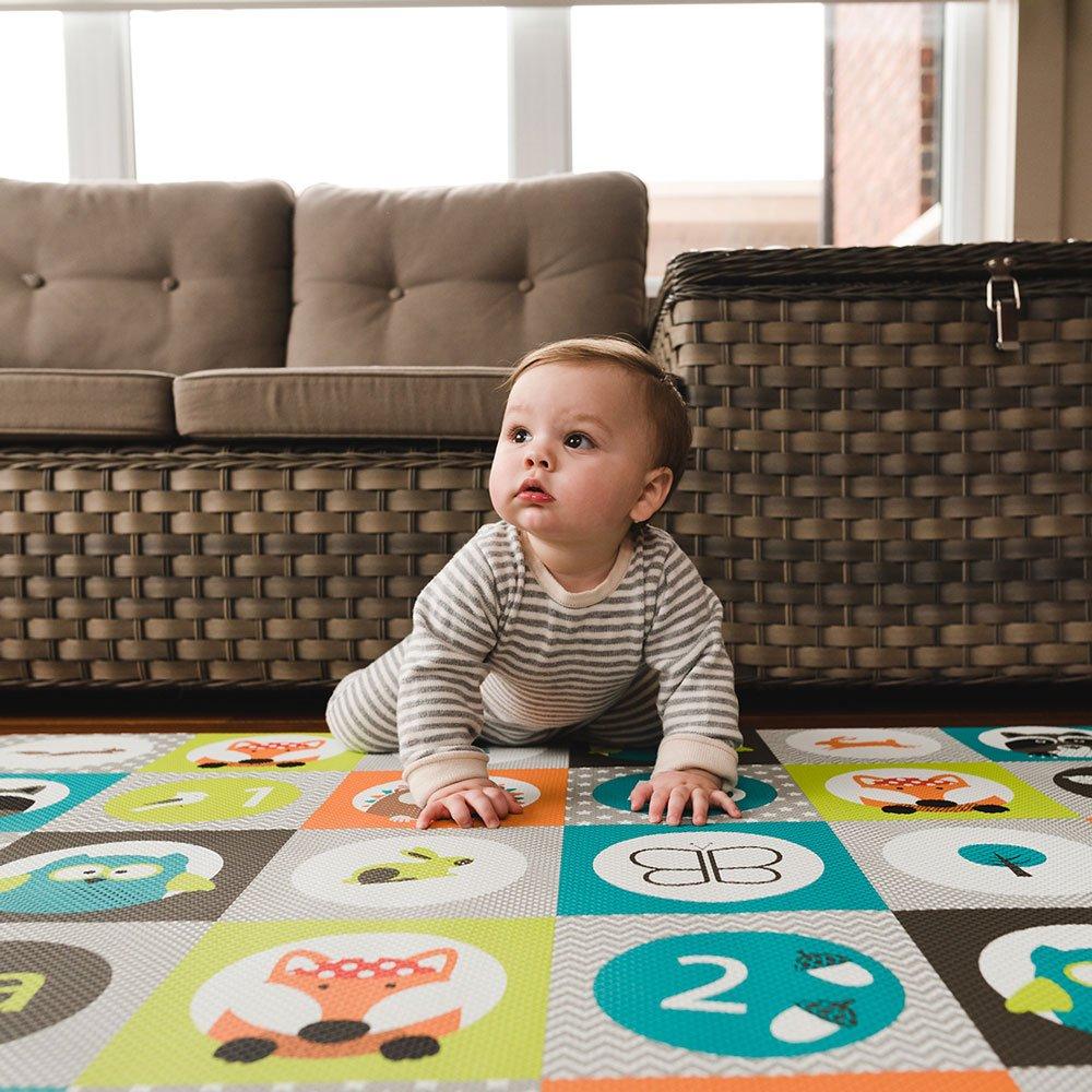 Tiles bbl/üv Soft Reversible and Safe Playmat M/ülti