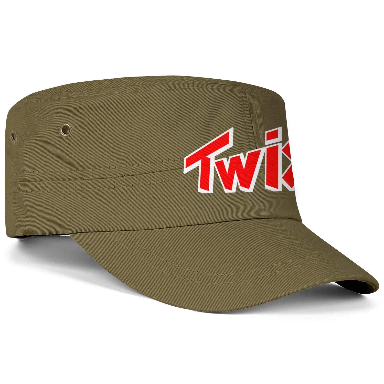 zoyozoyu Twix Logo Men Women Military Cap Curved Relaxed Camouflage Hat