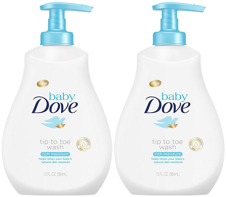 Baby Dove Wash, Rich Moisture, 13 oz Unilever / Best Foods