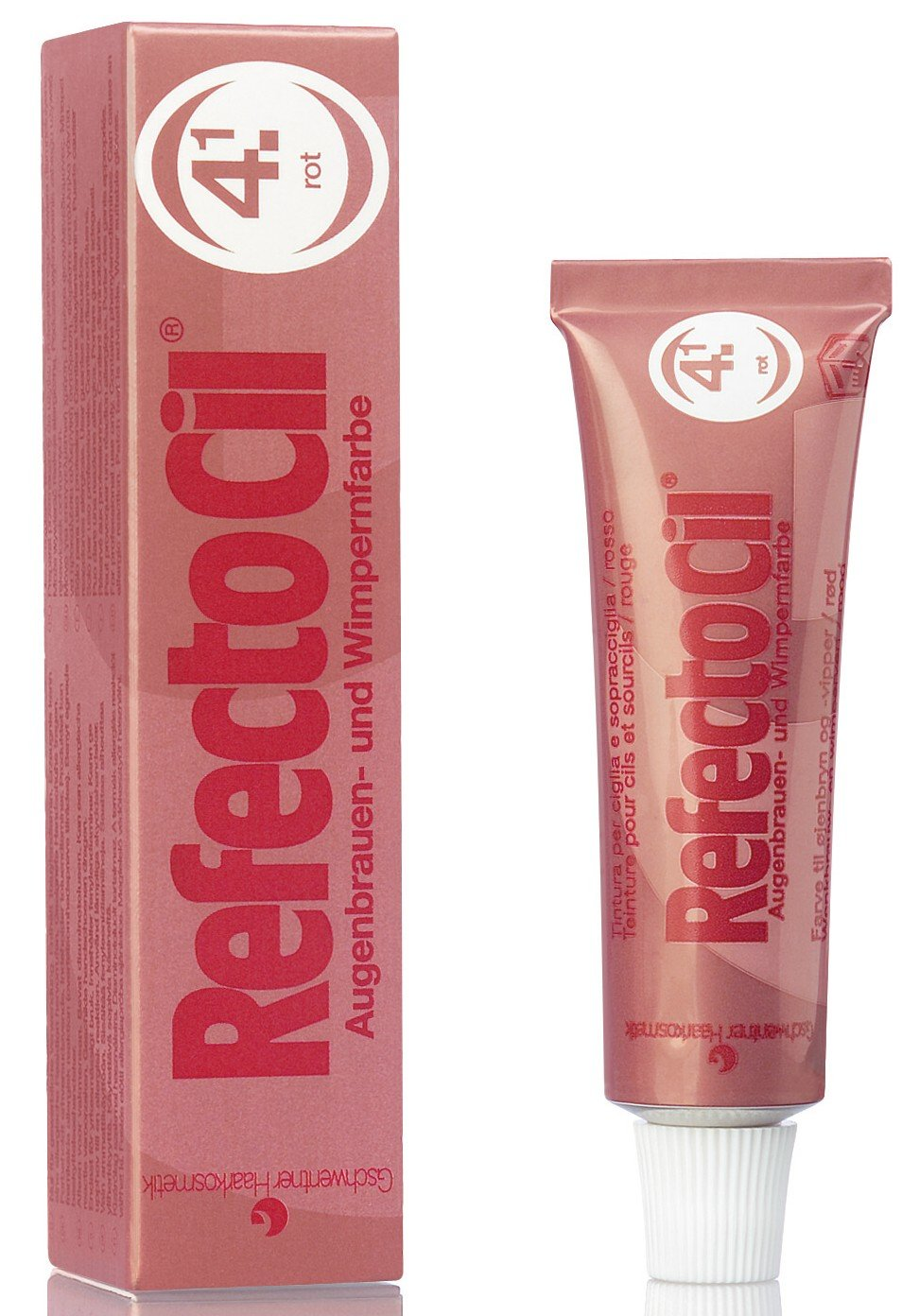 RefectoCil Henna 4.1 Red Tinte Blanqueamiento Cejas - 15 ml 0501008