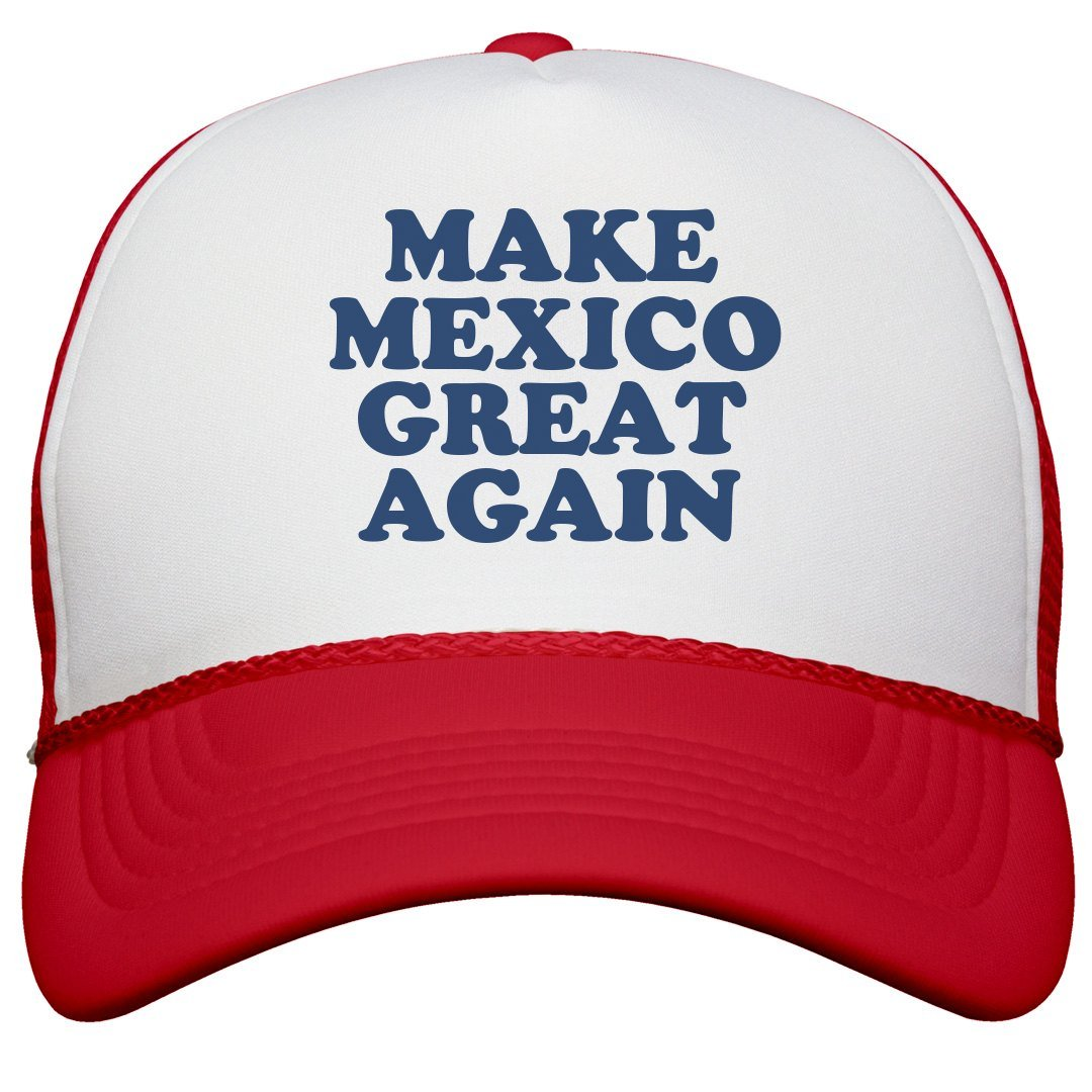 e258cba12cb Amazon.com  FUNNYSHIRTS.ORG Make Mexico Great Again Hat  Snapback ...