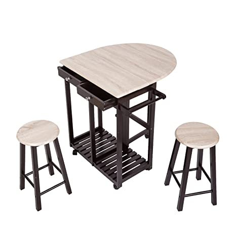 Amazing Amazon Com Kinsuite Kitchen Island On Wheels Folding Table Unemploymentrelief Wooden Chair Designs For Living Room Unemploymentrelieforg