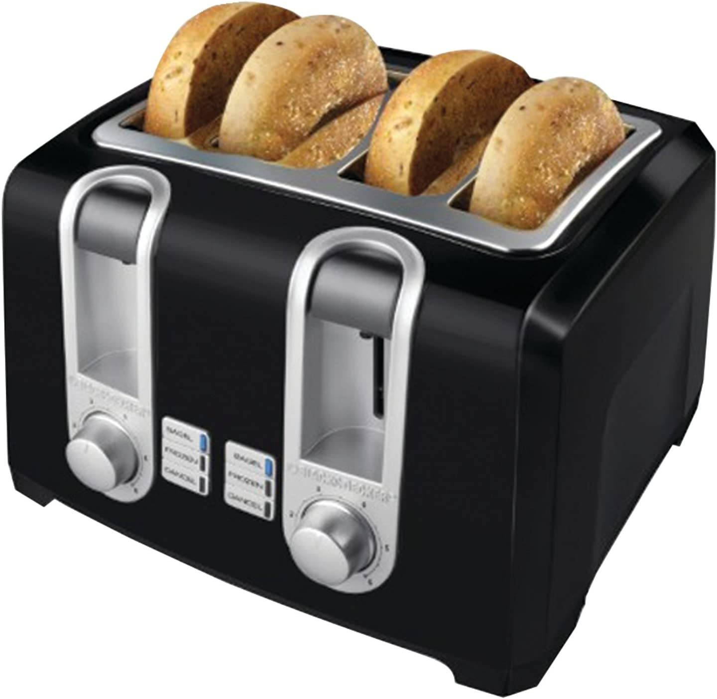 Amazon.com: Black & Decker t4569b 4 Slice Toaster, color ...