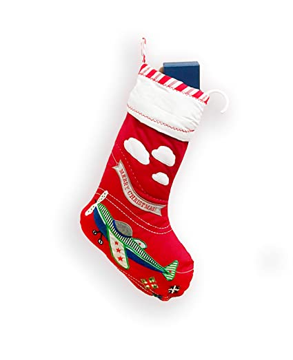 large quilted christmas stocking snowmanreindeertrainairplanesantaballerina - Quilted Christmas Stockings