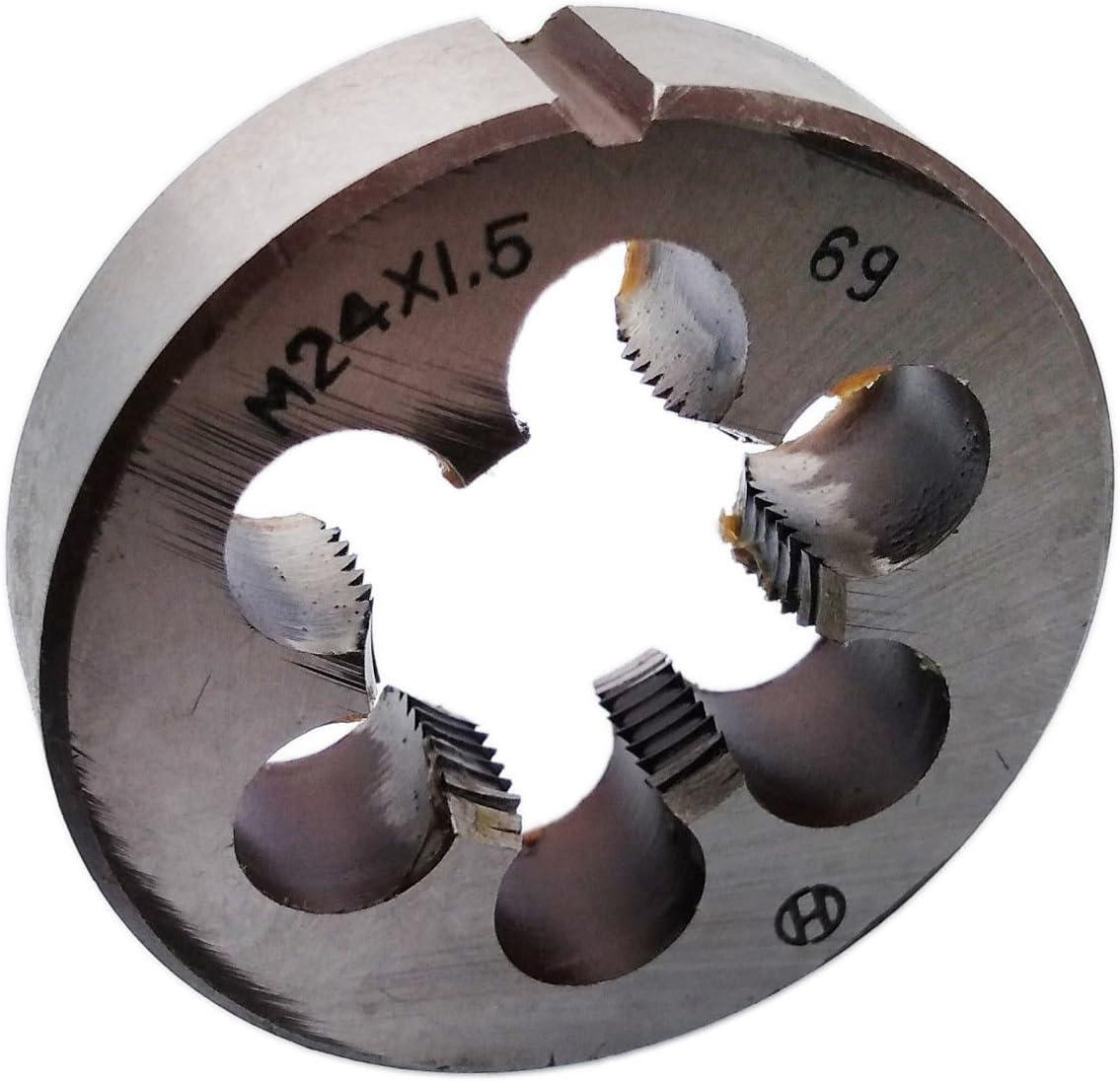 HSS 24mm x 1.5 Metric Die Right Hand Thread M24 x 1.5mm Pitch
