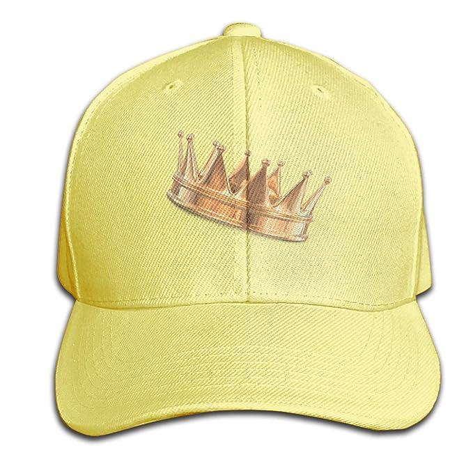 Osmykqe King Queen Unisex Summer Sunhat Ajustable Casual Golf Golf ...