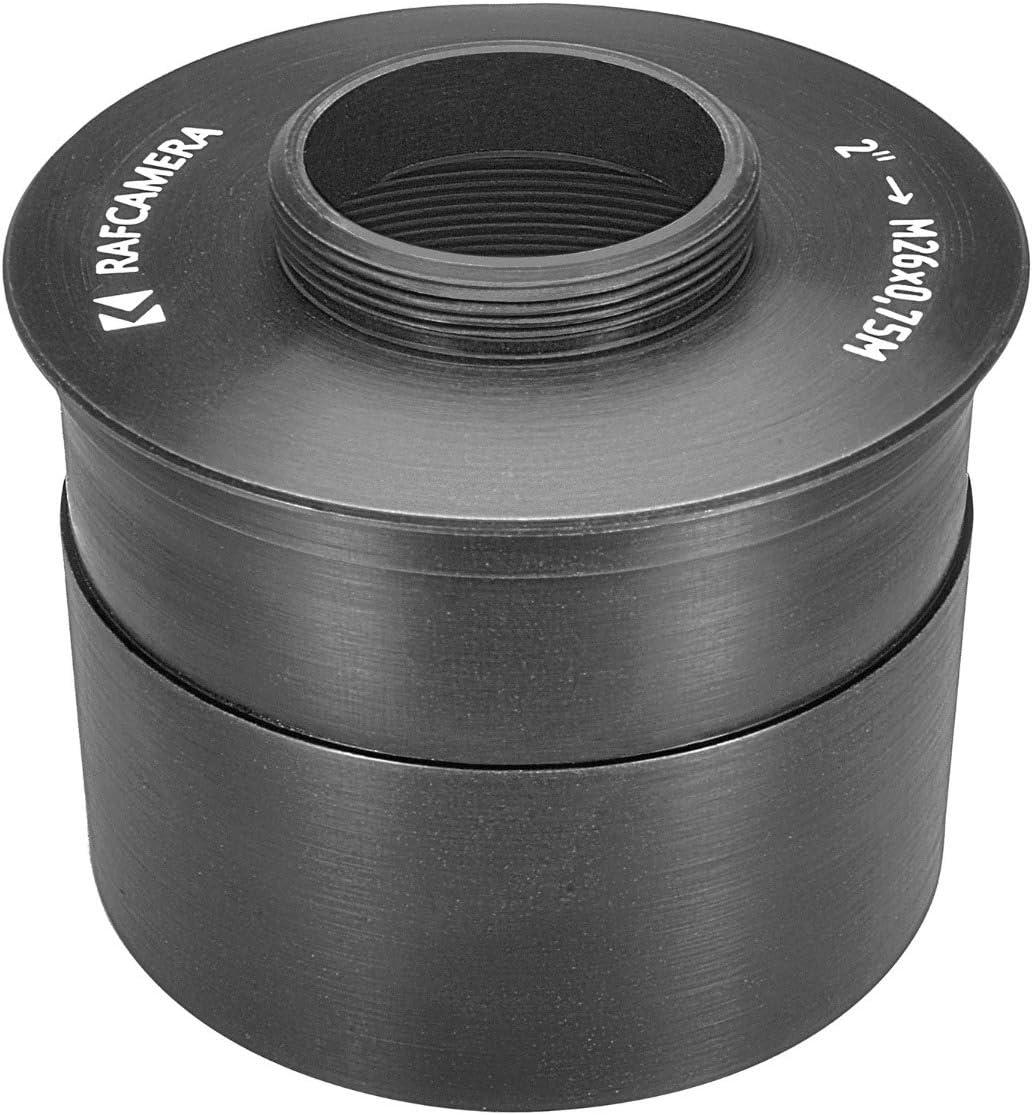 2/″ Telescope Port to M26x0.75 Adapter for William Optics binoviewer