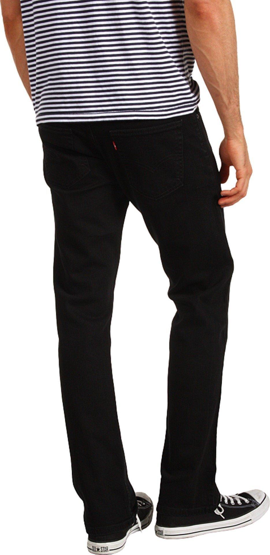 Levi's Men's 514 Straight fit Stretch Jean,  Black, 35x34 by Levi's