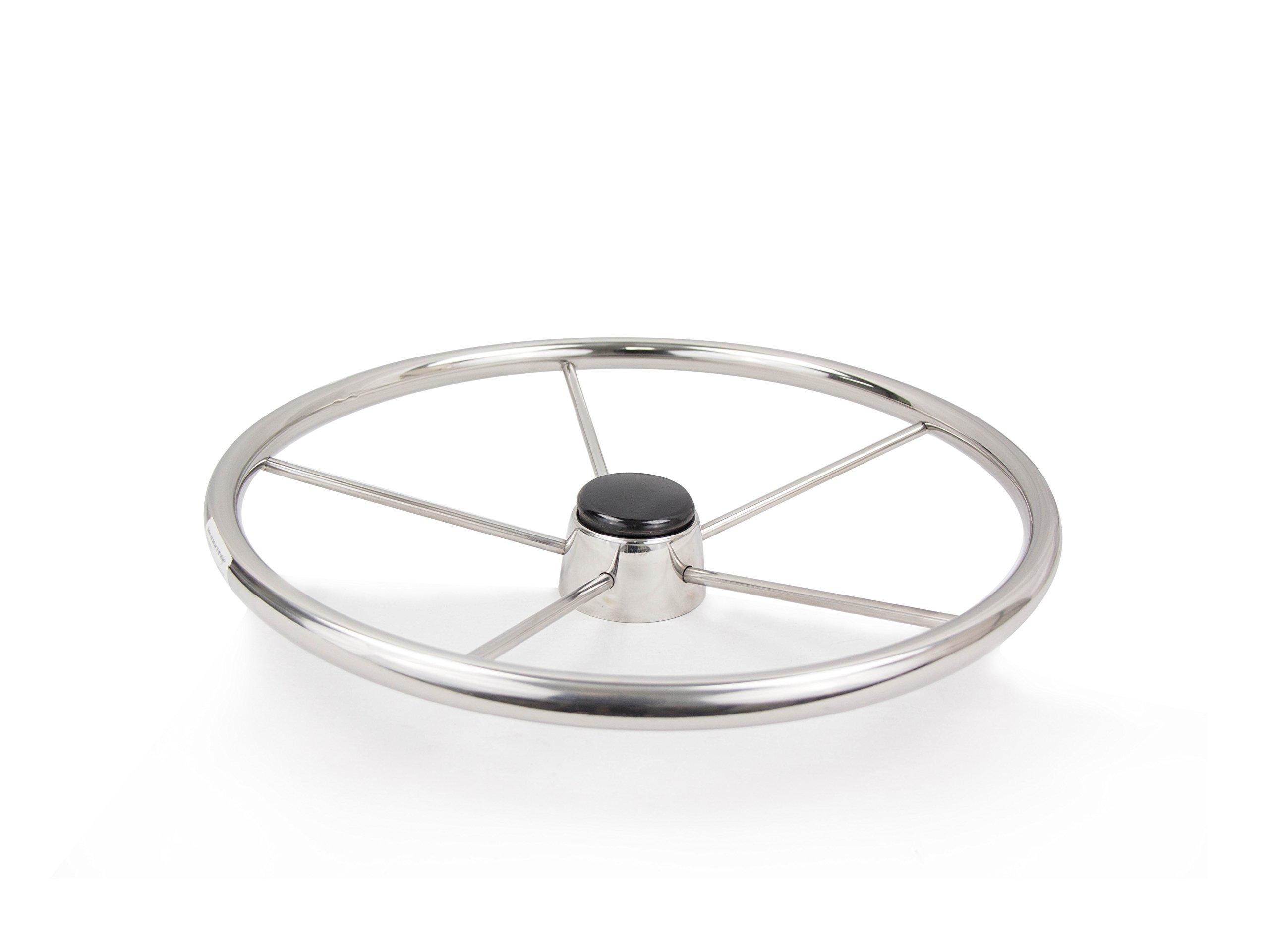 Five Oceans Stainless Steel Destroyer Wheel, 15'' FO-1519