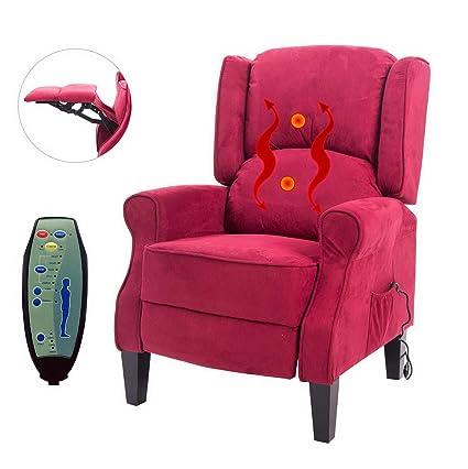 Amazon.com: Hebel Deluxe Massage Recliner Chair Heated Sofa ...