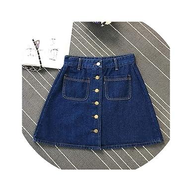 Amazon.com: Beenle Icey-skirts falda primavera verano mujer ...