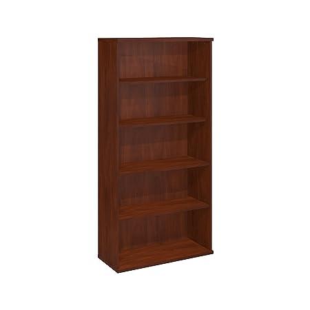 Bush Business Furniture Series C 36W 5 Shelf Bookcase in Hansen Cherry
