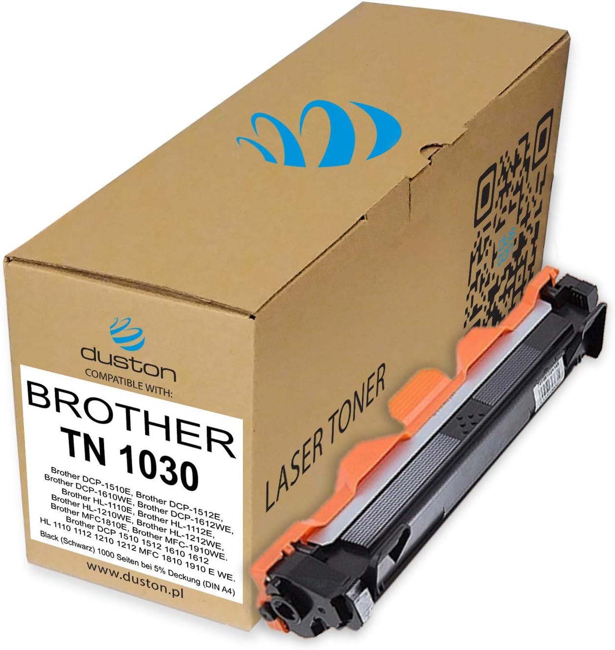 Tn1030 Tn 1030 Schwarz Duston Toner Kompatibel Zu Brother Dcp 1510 1512 1610 1612 Hl 1110 1112 1210 Mfc 1810 1910 Bürobedarf Schreibwaren