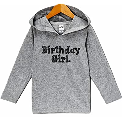 7 ate 9 Apparel Kid's Birthday Girl Hoodie