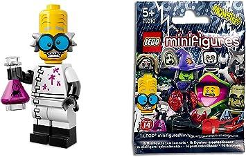 LEGO Minifiguras Coleccionables: Mad Scientist Minifigura (Serie 14): Amazon.es: Juguetes y juegos