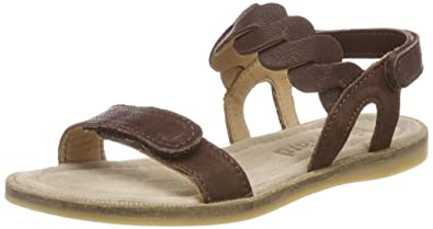 Bisgaard 70704118, Sandales Bout Fermé Fille, Marron (Brown 301), 36 EU