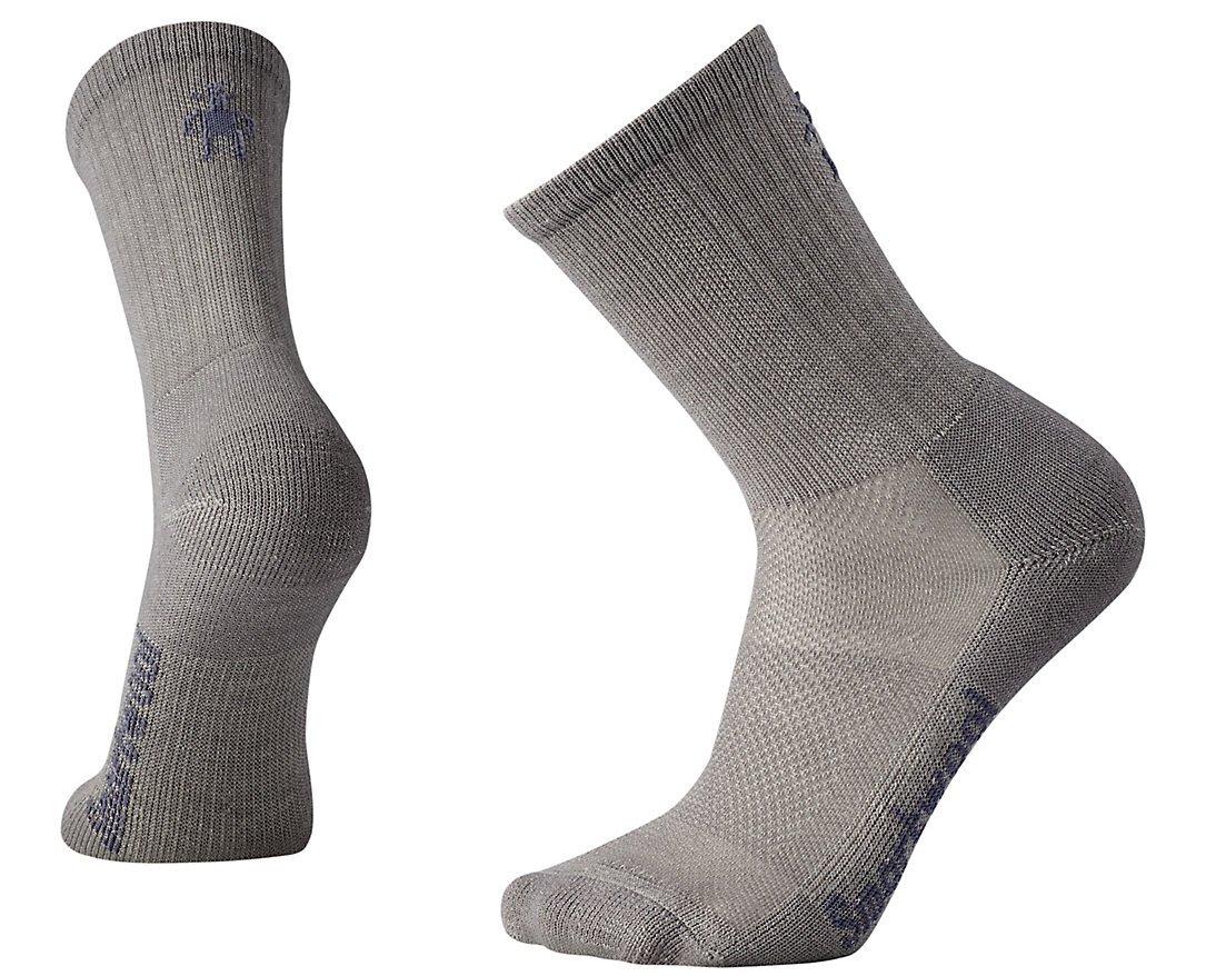 SmartWool Men's Hike Ultra Light Crew Socks (Medium Gray) Medium by Smartwool