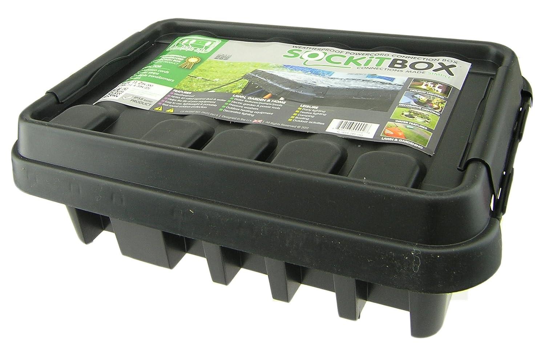 Sockitbox Model 330 Bk Weatherproof Electrical Box Large Black Outdoor Junction Wiring