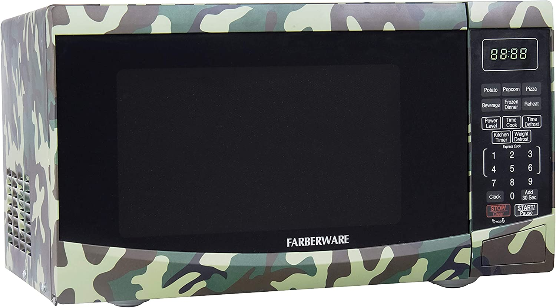 Amazon.com: Farberware FMO09BBTCFA 0.9 pies cúbicos. Horno ...