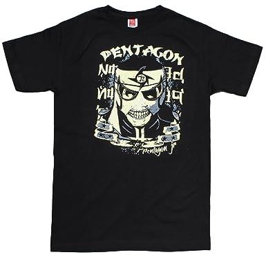 Pentagón Jr. Cero Miedo Lucha Libre Original T-Shirt (Small)