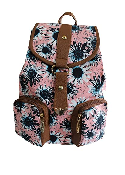 507d19587340 Damit Women s Girls Backpack (Pink)  Amazon.in  Shoes   Handbags