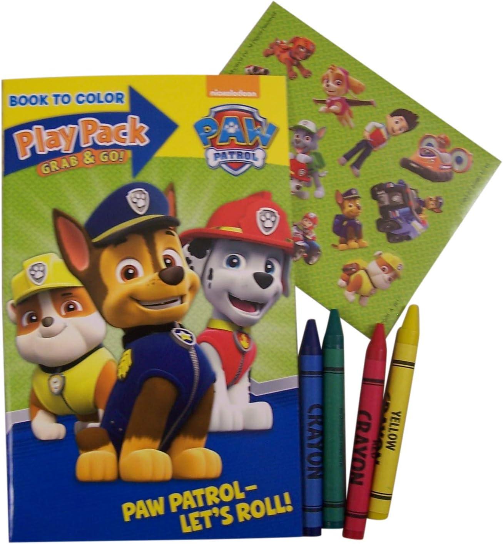 Amazon.com: Paquetes de juegos de Patrulla canina tomar y ...