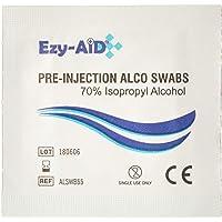 Ezy-Aid 100 Paños de Limpieza de Piel Pre-Inyección