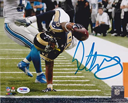 23fca098 Todd Gurley Autographed Signed 8x10 St Louis Rams Photo - Goaline ...