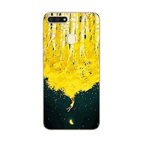 Amazon com: OUOK for Huawei Honor 7A Pro Case Novelty TPU Phone Case