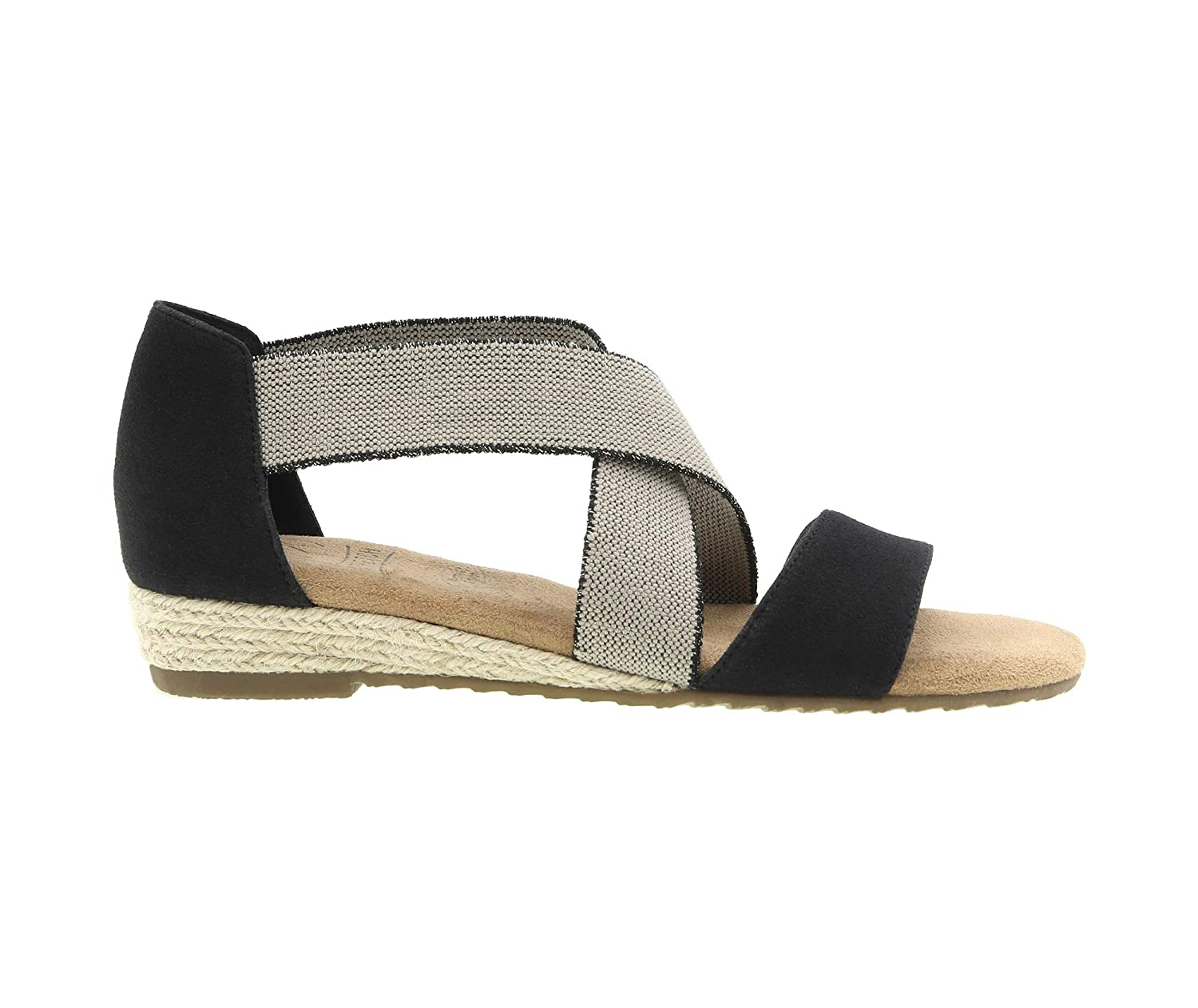f749e29d9b Amazon.com | Impo Reflect Stretch Wedge Sandal with Memory Foam | Shoes