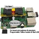 RASPIAUDIO.COM Audio DAC Hat Sound Card (Audio+Speaker+MIC) for Raspberry Pi Zero/PI3/PI3B/PI3B+/Pi 2/Better Quality Than USB