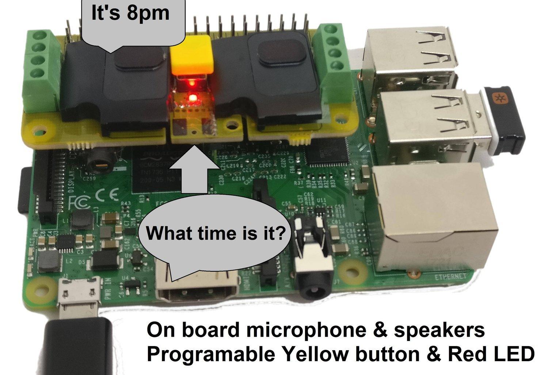 RASPIAUDIO.COM Audio DAC HAT Sound Card (AUDIO+SPEAKER+MIC) for Raspberry Pi Zero/Pi3/Pi3B/Pi3B+/Pi2/Better quality than USB