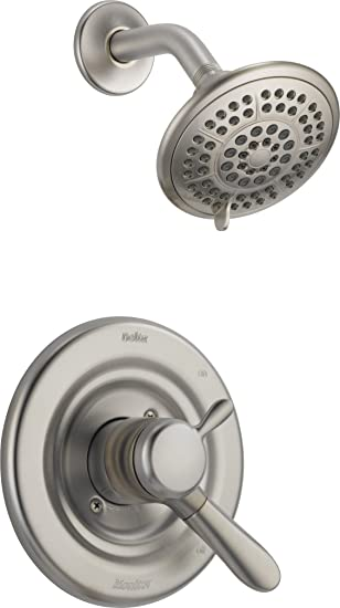 Delta Faucet T17238-SS Lahara Monitor 17 Series Shower Trim ...