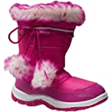 GIRLS WINTER KIDS FUR SNOW MOON MUCKER WELLINGTON WELLIES BOOTS SHOES