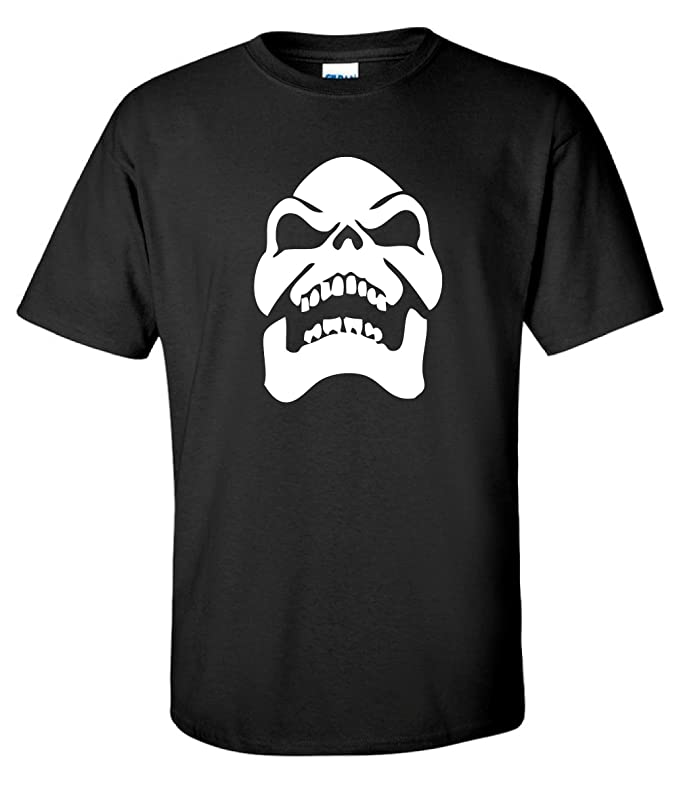Skeletor He-Man Black T-shirt, S to XXL