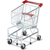 Deals on Melissa & Doug Toy Shopping Cart With Sturdy Metal Frame