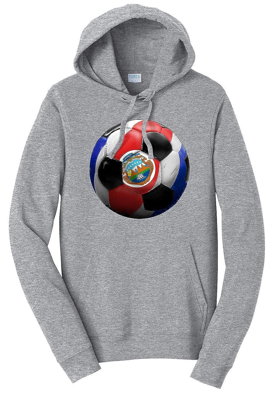 Tenacitee Unisex Costa Rica Soccer Sweatshirt