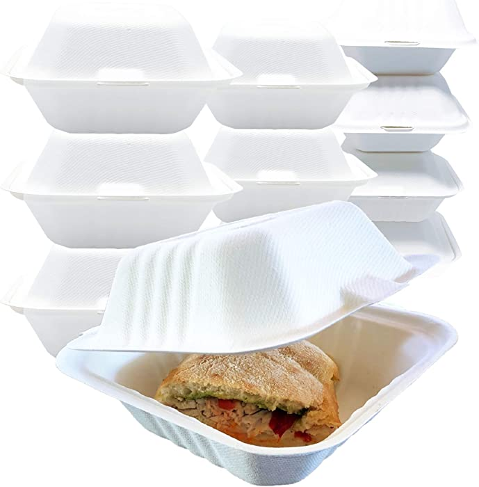 Top 9 Food Containers White Disposable