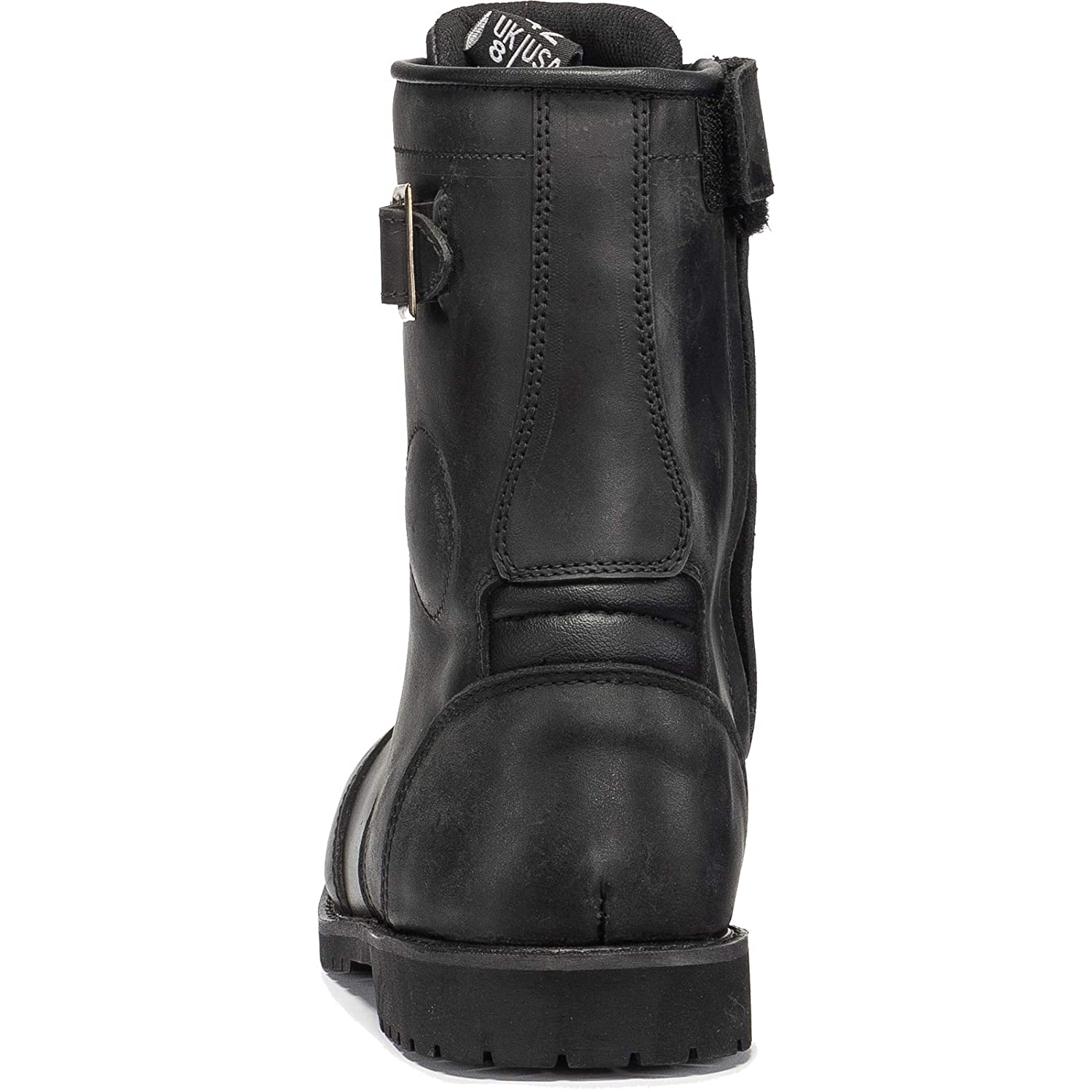 Black Heritage WP Motorcycle Boots